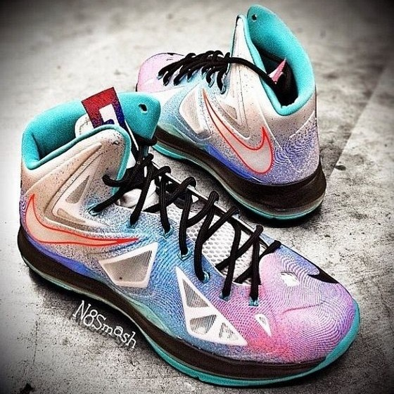 brand new a9939 28757 ... Fresh Onfoot Look at the Upcoming LeBron X Pure Platinum ...