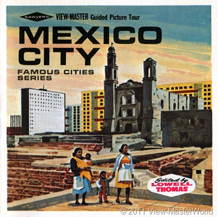 View-Master Mexico City (B002), Booklet Cover