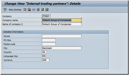 Company and Company code Creation configuration in SAP-Part