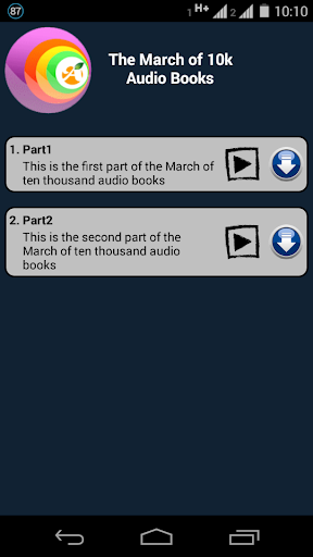 March Of 10k Audio Books