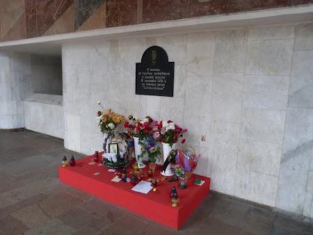 Imagini Belarus: monument atentat metrou