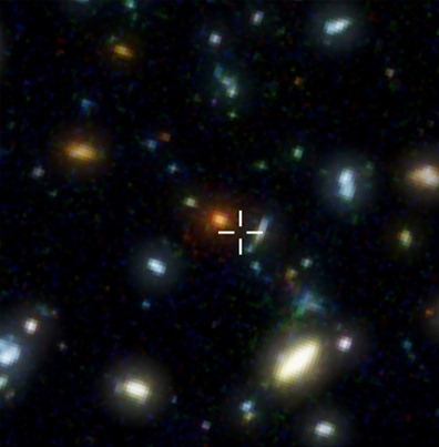 região do Hubble Deep Field onde está a HDF850.1