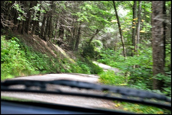 03 - several mile drive on a winding dirt road-really need 4 wheel drive