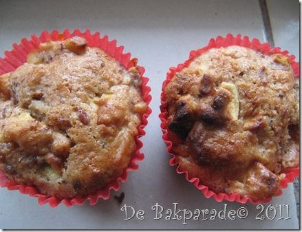 Kastanje Appel Muffins
