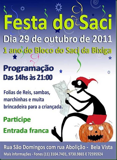 ECLA-FESTA DO SACI NO BIXIGA
