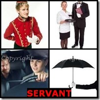 SERVANT- 4 Pics 1 Word Answers 3 Letters