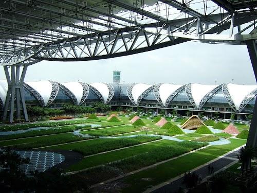Аэропорт Suvarnabhumi. Фото с Panoramio