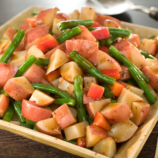 Mediterranean Potato & Green Bean Salad Recipe
