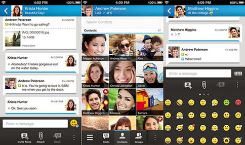 BlackBerry Messenger para Windows Phone