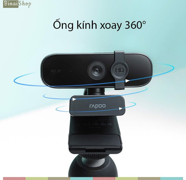 Rapoo C280 - Webcam Họp Trực Tuyến