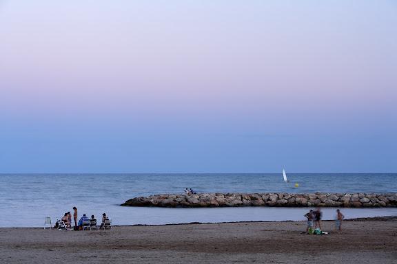 Passeig de Ponent, platja Horta de Santa MariaCambrils, Baix Camp, Tarragona