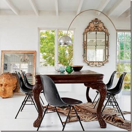 salle-a-manger-bureau-ancien-chaise-noir