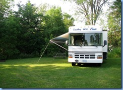 4678 McRae Point Provincial Park our motorhome in site #138