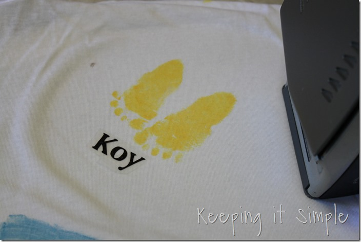 Father's Day Footprint shirt (6)