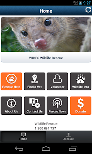 WIRES Wildlife Rescue App- screenshot thumbnail
