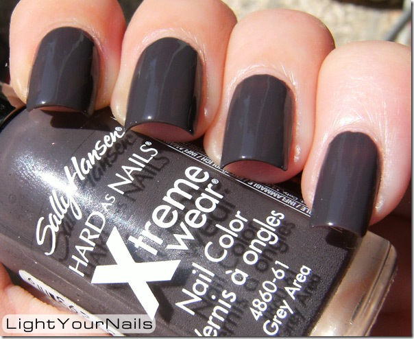 Sally Hansen Xtreme Wear Grey Area