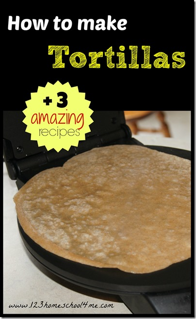 Tortillas are super easy and way more delicious if you make them from scratch! #recipes #realfood