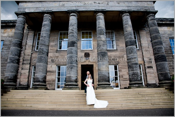 bride and groom wedding photography in scotland