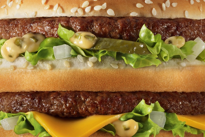 Mcdonalds unbranded big mac aotw