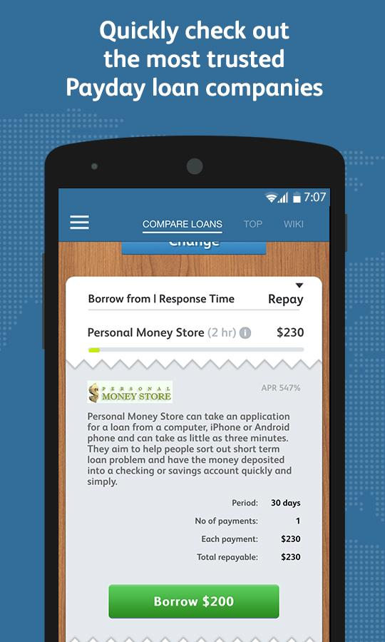 Payday loan comparison - Android Apps on Google Play