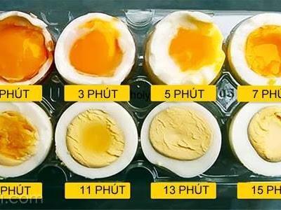 Cách luộc trứng lòng đào ngon nhất