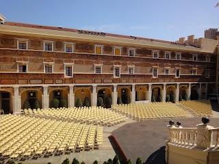 Cour d'honneur du Palais Princier à Monaco