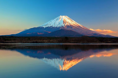 Mount Fuji: big strong solid stable enduring peaceful