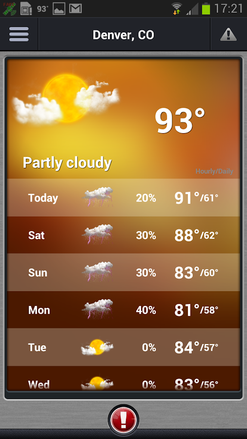 Pinpoint Weather - screenshot