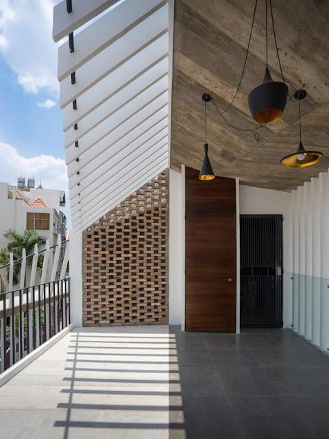 Ngôi nhà đẹp lạ trong hẻm - 3 Houses - AD+ Studio