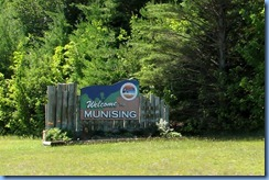 3086 Michigan State Hwy 28 East Munising - Welcome sign