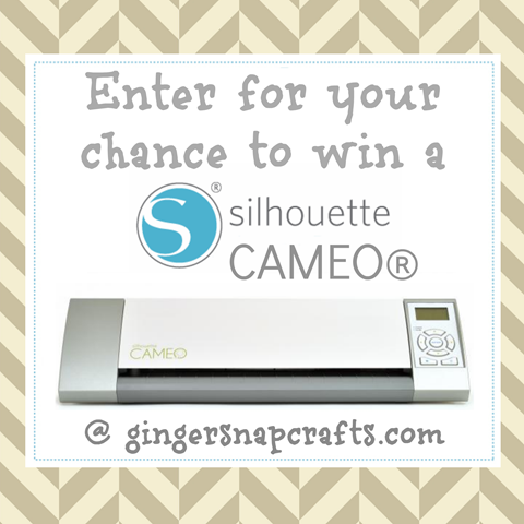 Silhouette August Promotions use code GINGERSNAP #silhouette #gingersnapcrafts #cameogiveaway