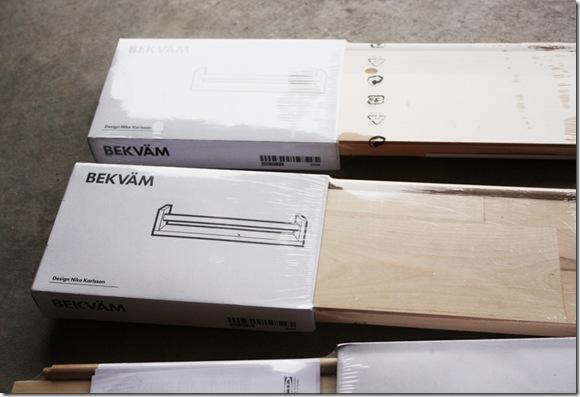 IKEA Spice Rack {TURNS} Bookshelf