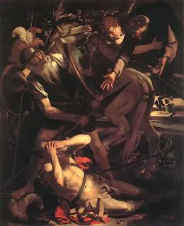 Caravaggio (1571–1610), The Conversion of Saint Paul, 1600, Odescalchi Balbi Collection, Rome