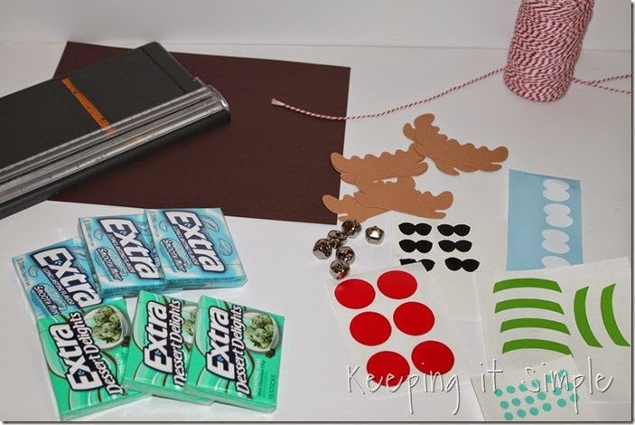 #ad Extra-gum-reindeer-gift #ExtraGumMoments (2)