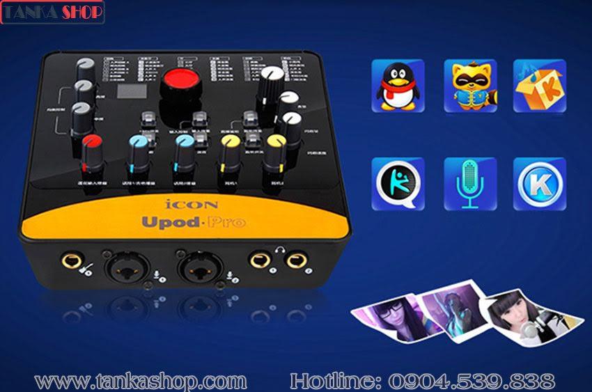 Sound card usb Icon Upod Pro