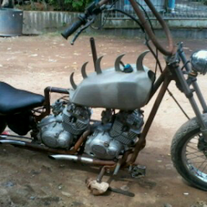 Punk bike custom