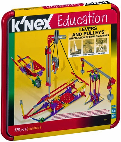 K'next Education Levers and pulleys for simple machine unit