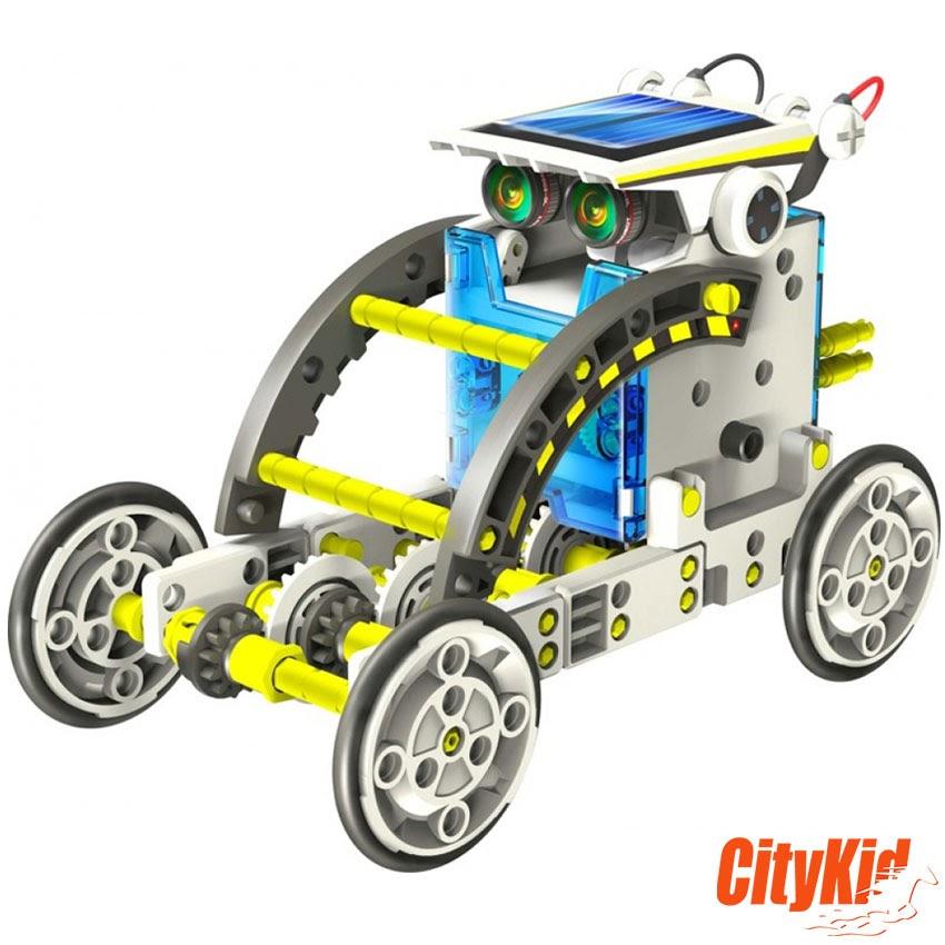 Robot năng lượng mặt trời 14 in 1