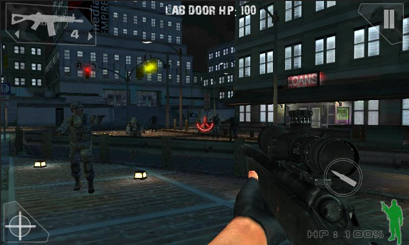 Green Force: Zombies - HD - screenshot