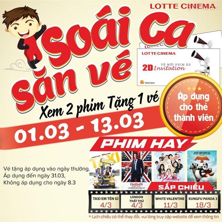Soái Ca trong truyền thuyết sắp xuất hiện tại Lotte Cinema