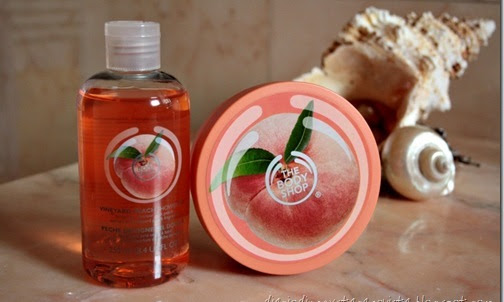 The Body Shop Linea Pesca della Vigna