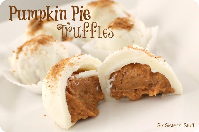 Pumpkin Pie Truffles Recipe