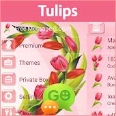 GO SMS Pro Tulips