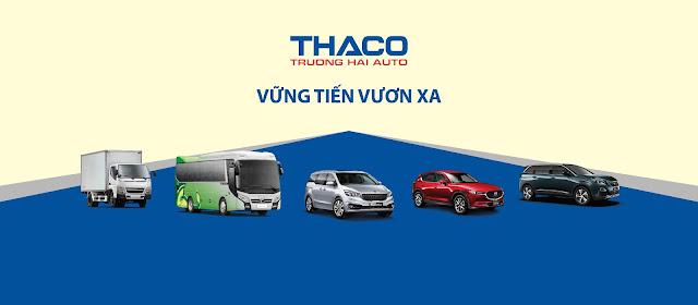 Đại lý xe tải Thaco Trường Hải ở Vĩnh Phúc