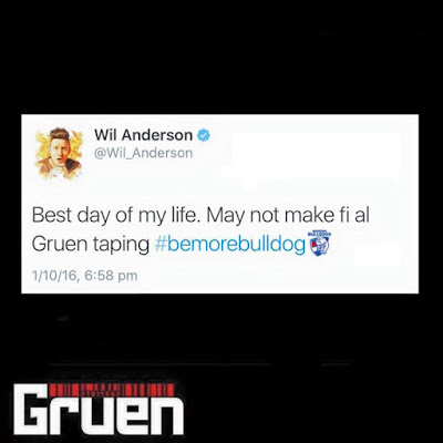 Will Wil Anderson Official Page make it to the Gruen season final