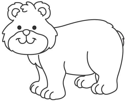 Desenho De Animais Do Zoológico Reunidos Para Colorir: COLOREAR ANIMALES DEL CIRCO