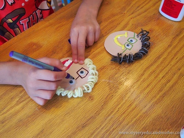 GrandparentsDayCraft5 # craftfoam #crafting #kidscraft #grandparentsday