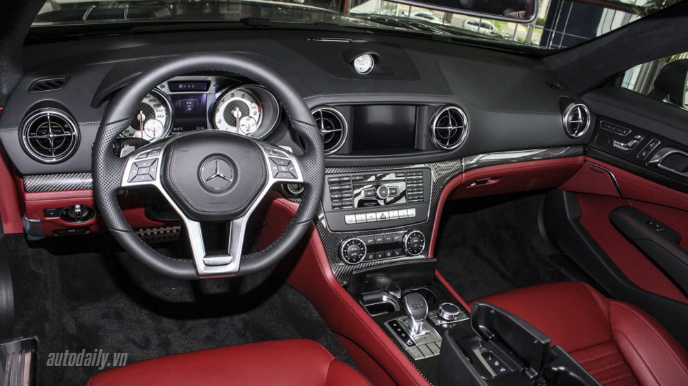 Xe Mercedes Benz SL350 AMG 010