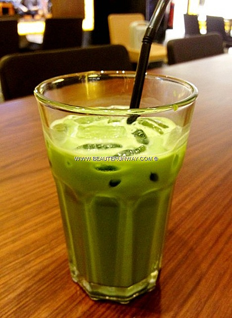 Nana's Green Tea Cafe Matcha Latte Ice Cream Float Beverages Authentic Matcha Latte generously laced with premium Kyoto green tea leaf powder healthy drink Matcha overdosed Plaza Singapura desserts japanese cuisine udon don crepes