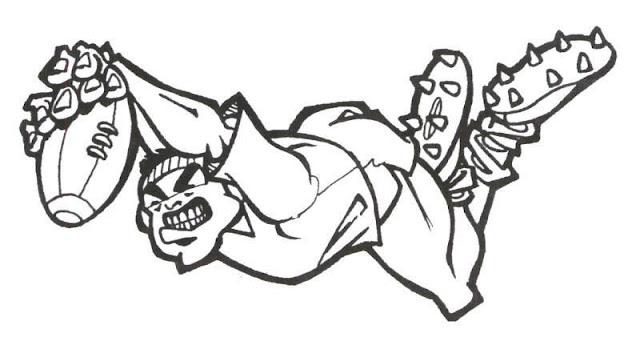 Dibujos De Rugby Para Colorear